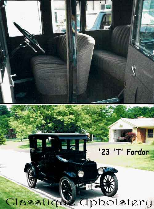 1923 T Ford - We carry classic car kits that include kit reproductions and convertible tops for vintage cars.