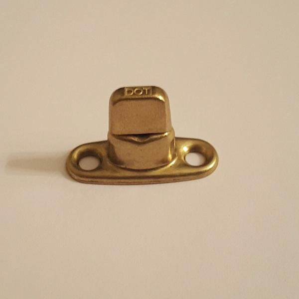 Classtique Upholstery Common Sense 2 Hole Double High Male Stud Brass Hardware