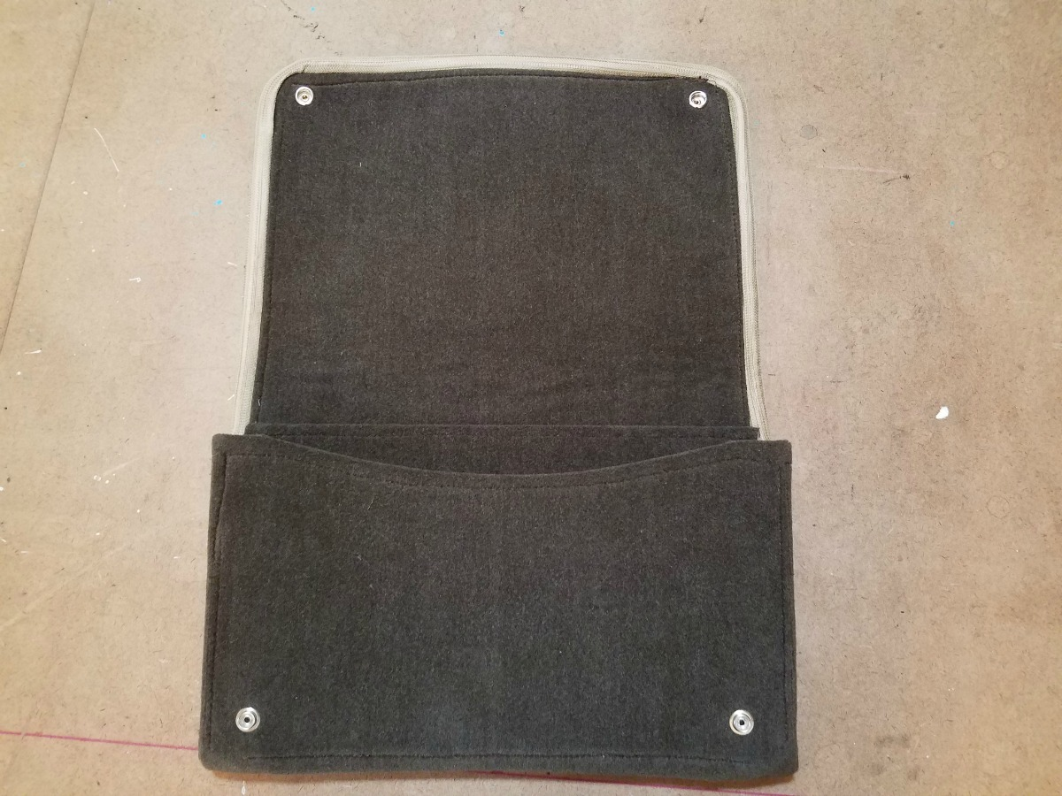 Classtique Upholstery Pocket Pouch