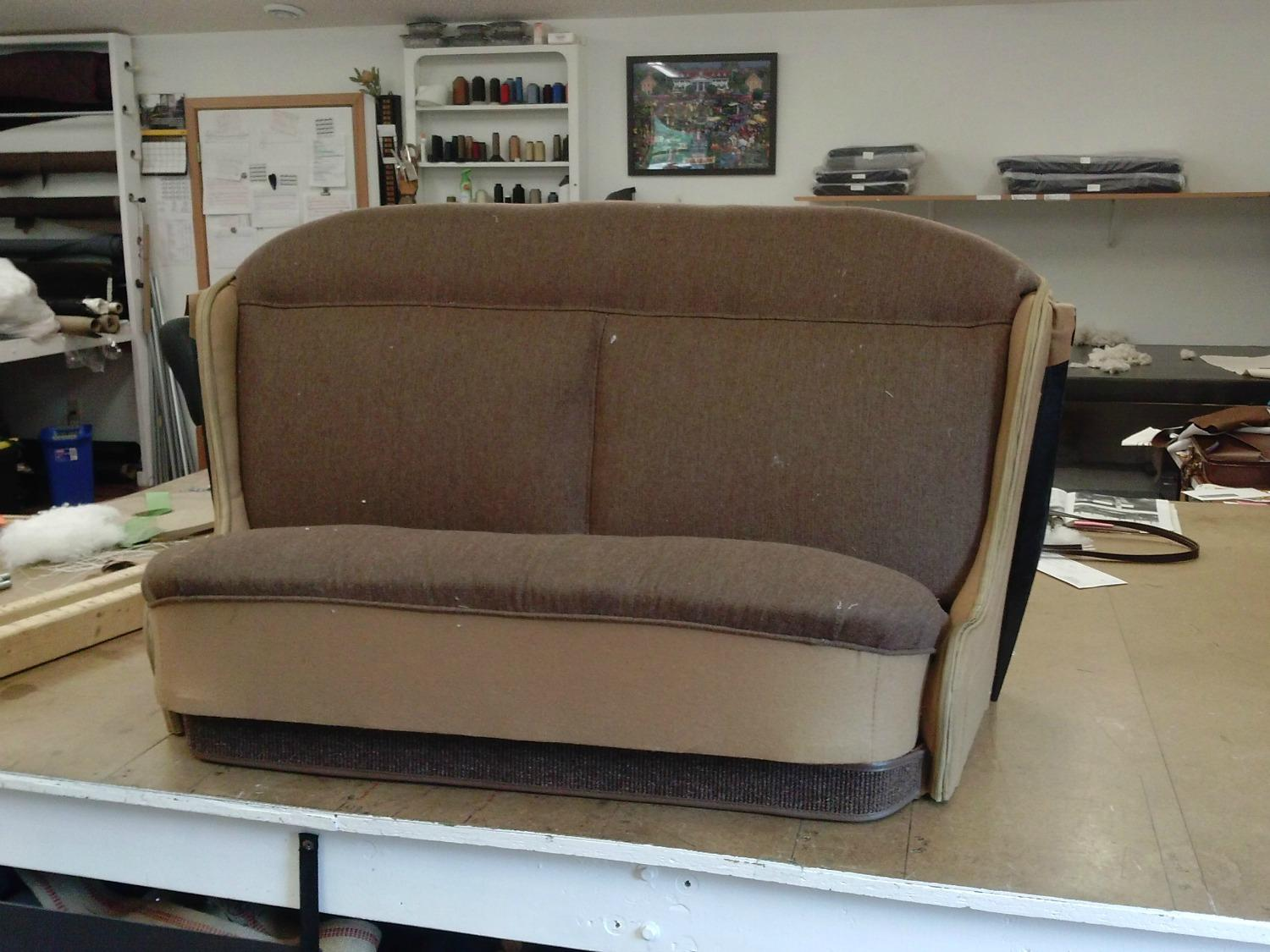 Model A Seat and Backrest 1500